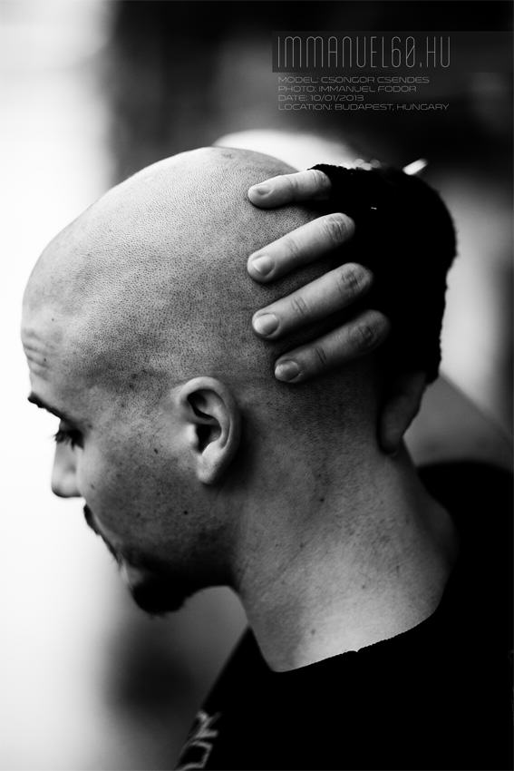 Modell: Csendes Csongor, Fotó: Fodor Immánuel