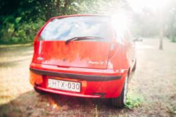 Fiat Punto II 1.2 16V HLX csomagtartó