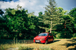 Fiat Punto II 1.2 16V HLX erdőben