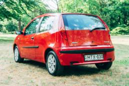 Fiat Punto II 1.2 16V HLX hátsó díszrács